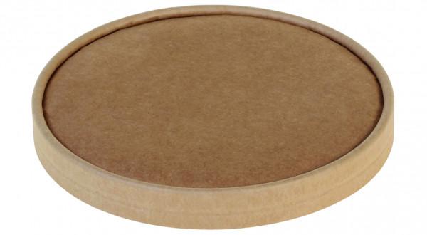 Deckel aus Karton Kraft braun Ø184mm zu 17013/17014, naturesse