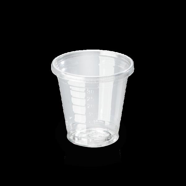naturesse PLA Schnapsglas 0,3dl, Höhe 35mm, Ø46mm