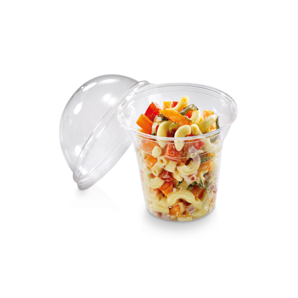 naturesse PLA Salatshaker 200 ml, Ø9,6cm, 7,5cm tief