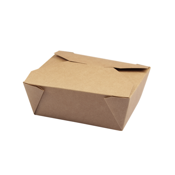 naturesse Take away Box Kraft/PLA 197x140x65mm ca. 1800ml