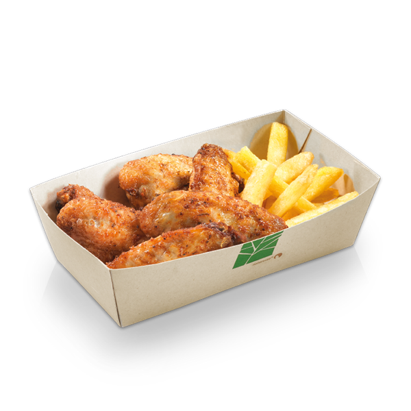 naturesse PaperWise Food-Tray 10x6,8x4,5cm