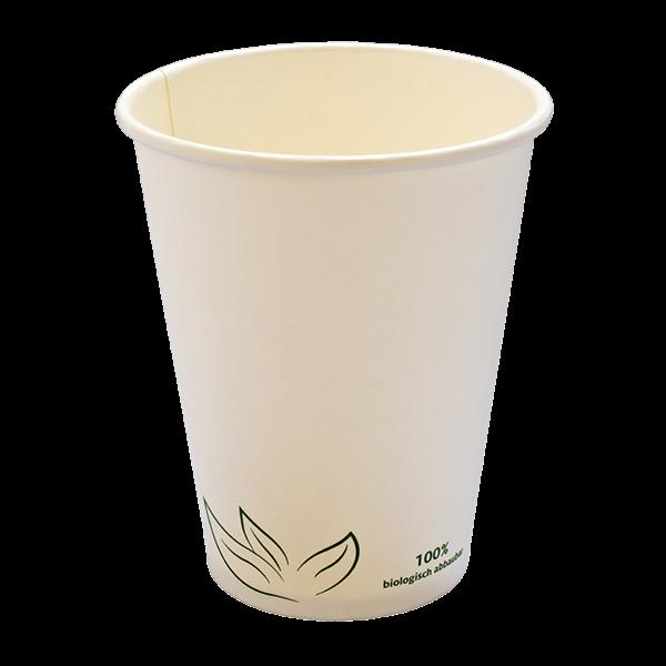 naturesse Kaffeebecher aus Karton 1dl, weiß naturesse