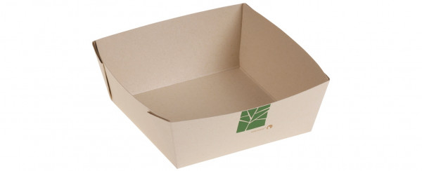 XXX naturesse PaperWise Salat-Box 600ml, 13,5x13,5x5cm