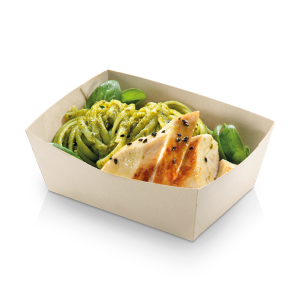 naturesse Bamboo Food Tray PLA 135x75x38mm