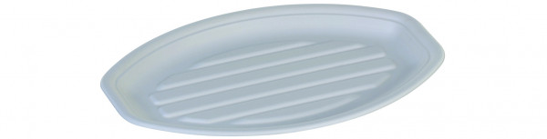 Zuckerrohr Platte 34 x 23,5 cm