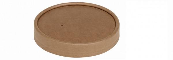Deckel ohne Steamlöcher zu Becher Kraft/PLA 240/360ml (Art. 15529/15530/16609)