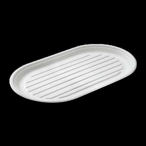 Zuckerrohr Platte 55 x 32 cm