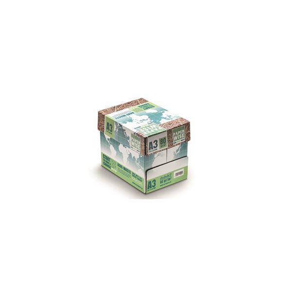 naturesse PaperWise Kopierpapier aus Zuckerrohrfasern, 80g/m², DIN A3, 5x500 Blatt