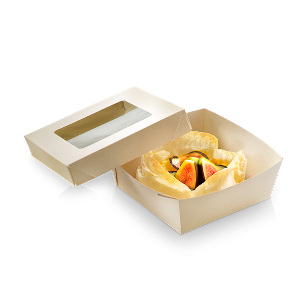 naturesse Bamboo Foodbox PLA 115x115x40mm