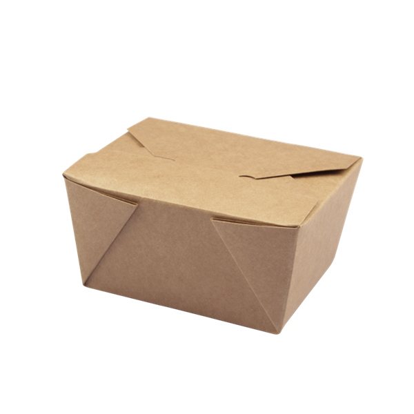 naturesse Take away Box Kraft/PLA 130x90x65mm ca. 600ml