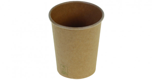 Kaffeebecher Kraft PLA unbleached, 2 dl, naturesse