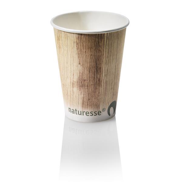 naturesse Kartonbecher 3,0dl, Ø9cm - Palmblatt FSC®